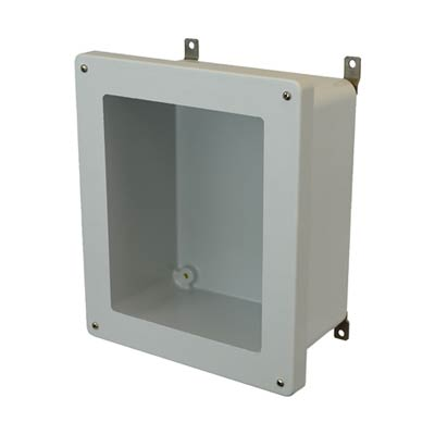 Allied Moulded AM1206W NEMA 4X Fiberglass Enclosure