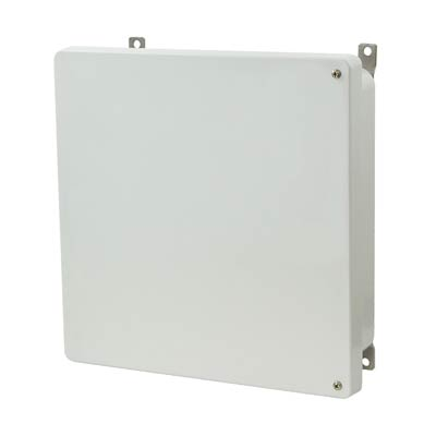 Allied Moulded AM1224H NEMA 4X Fiberglass Enclosure
