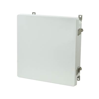 Allied Moulded AM1224L NEMA 4X Fiberglass Enclosure