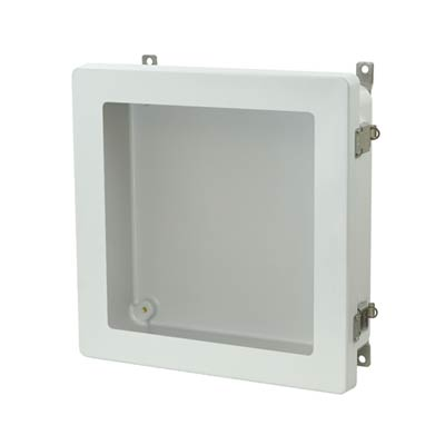 Allied Moulded AM1224LW NEMA 4X Fiberglass Enclosure