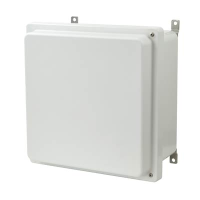 Allied Moulded AM1224RH NEMA 4X Fiberglass Enclosure