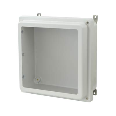 Allied Moulded AM1224RHW NEMA 4X Fiberglass Enclosure