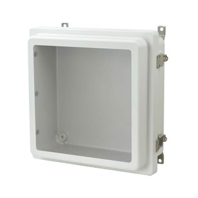 Allied Moulded AM1224RLW NEMA 4X Fiberglass Enclosure