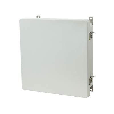 Allied Moulded AM1224T NEMA 4X Fiberglass Enclosure