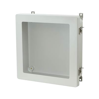 Allied Moulded AM1224TW NEMA 4X Fiberglass Enclosure