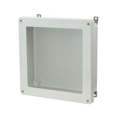Allied Moulded AM1224W NEMA 4X Fiberglass Enclosure