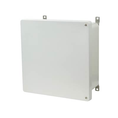 Allied Moulded AM1226H NEMA 4X Fiberglass Enclosure
