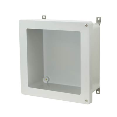 Allied Moulded AM1226HW NEMA 4X Fiberglass Enclosure