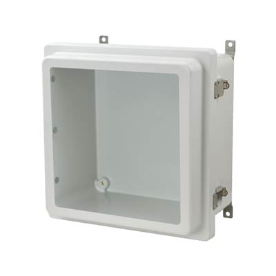 Allied Moulded AM1226RLW NEMA 4X Fiberglass Enclosure