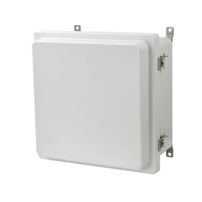 Allied Moulded AM1226RT NEMA 4X Fiberglass Enclosure