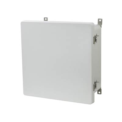 Allied Moulded AM1226T NEMA 4X Fiberglass Enclosure