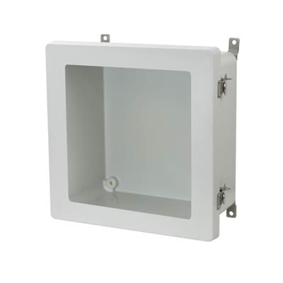 Allied Moulded AM1226TW NEMA 4X Fiberglass Enclosure
