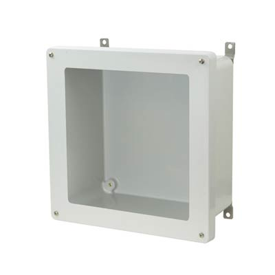 Allied Moulded AM1226W NEMA 4X Fiberglass Enclosure