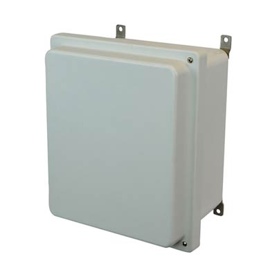 Allied Moulded AM1426RH NEMA 4X Fiberglass Enclosure
