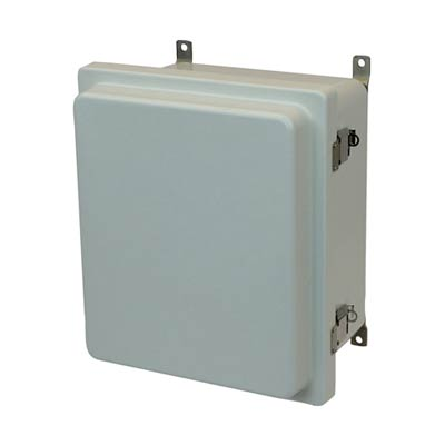 Allied Moulded AM1426RL NEMA 4X Fiberglass Enclosure_THUMBNAIL