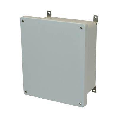 Allied Moulded AM1648 NEMA 4X Fiberglass Enclosure