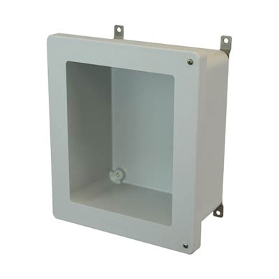 Allied Moulded AM1648HW NEMA 4X Fiberglass Enclosure
