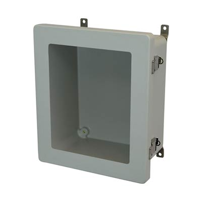 Allied Moulded AM1648LW NEMA 4X Fiberglass Enclosure