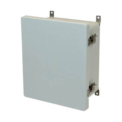 Allied Moulded AM1648T NEMA 4X Fiberglass Enclosure