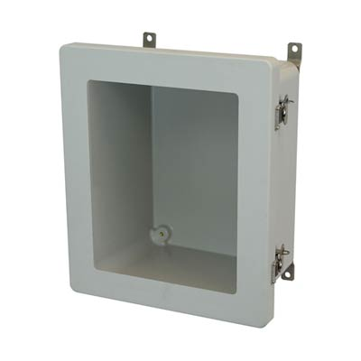 Allied Moulded AM1648TW NEMA 4X Fiberglass Enclosure