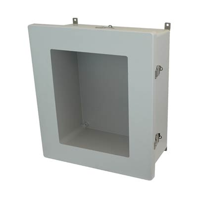 Allied Moulded AM1868LW NEMA 4X Fiberglass Enclosure