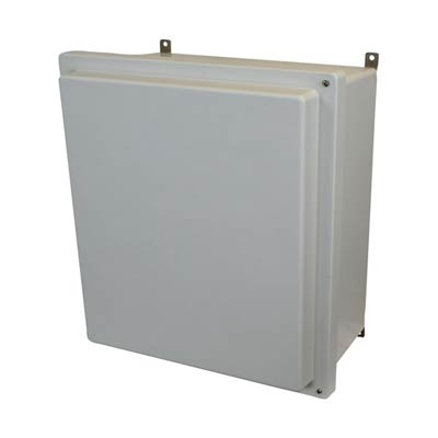 Allied Moulded AM1868RH NEMA 4X Fiberglass Enclosure