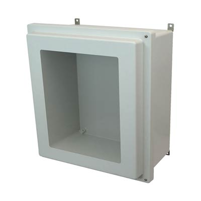Allied Moulded AM1868RHW NEMA 4X Fiberglass Enclosure