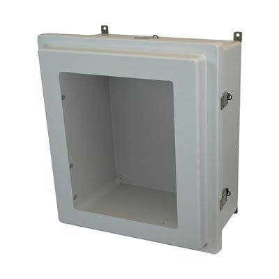Allied Moulded AM1868RLW NEMA 4X Fiberglass Enclosure
