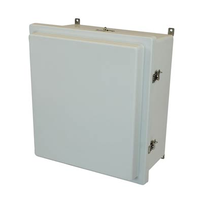 Allied Moulded AM1868RT NEMA 4X Fiberglass Enclosure