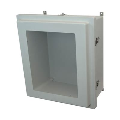 Allied Moulded AM1868RTW NEMA 4X Fiberglass Enclosure