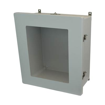 Allied Moulded AM1868TW NEMA 4X Fiberglass Enclosure