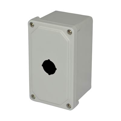 Allied AM1PB NEMA 4X Fiberglass Pushbutton Enclosure