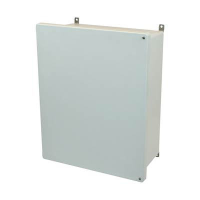 Allied Moulded AM2068H NEMA 4X Fiberglass Enclosure