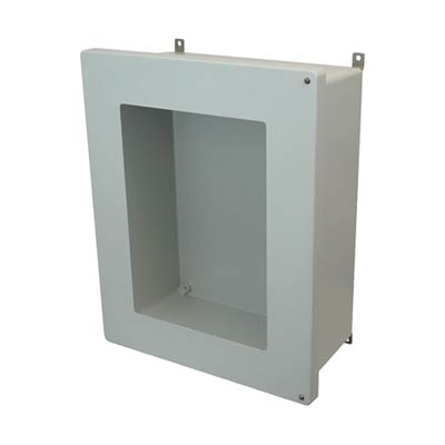 Allied Moulded AM2068HW NEMA 4X Fiberglass Enclosure