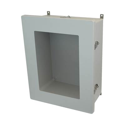 Allied Moulded AM2068LW NEMA 4X Fiberglass Enclosure