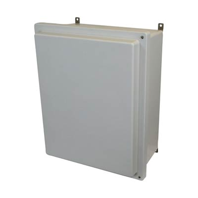Allied Moulded AM2068RH NEMA 4X Fiberglass Enclosure