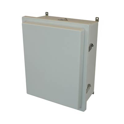 Allied Moulded AM2068RL NEMA 4X Fiberglass Enclosure_THUMBNAIL