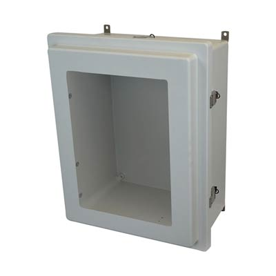 Allied Moulded AM2068RLW NEMA 4X Fiberglass Enclosure