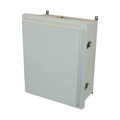 Allied Moulded AM2068RT NEMA 4X Fiberglass Enclosure