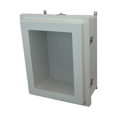 Allied Moulded AM2068RTW NEMA 4X Fiberglass Enclosure