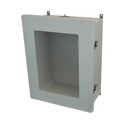 Allied Moulded AM2068TW NEMA 4X Fiberglass Enclosure