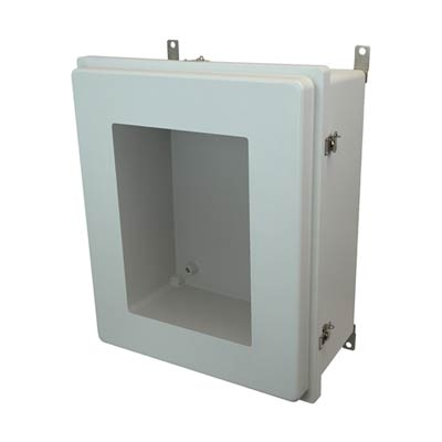 Allied Moulded AM24200RTW NEMA 4X Fiberglass Enclosure