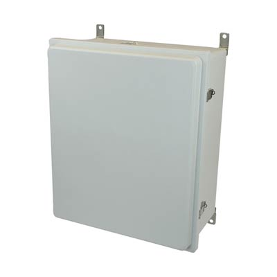 Allied Moulded AM24208RL NEMA 4X Fiberglass Enclosure_THUMBNAIL