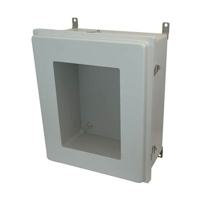 Allied Moulded AM24208RLW NEMA 4X Fiberglass Enclosure