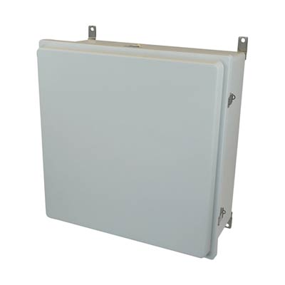 Allied Moulded AM24248RL NEMA 4X Fiberglass Enclosure_THUMBNAIL