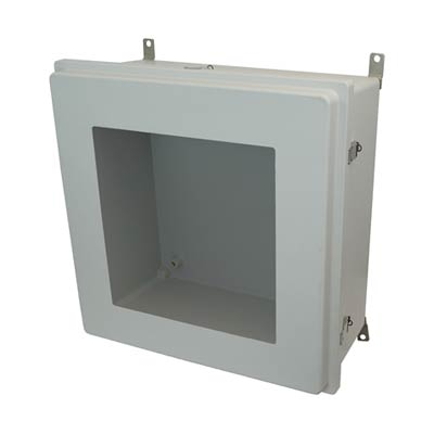 Allied Moulded AM24248RLW NEMA 4X Fiberglass Enclosure