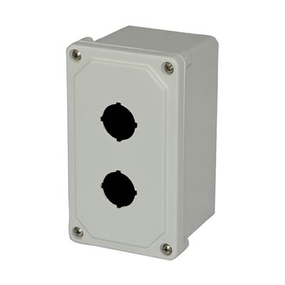 Allied AM2PB NEMA 4X Fiberglass Pushbutton Enclosure