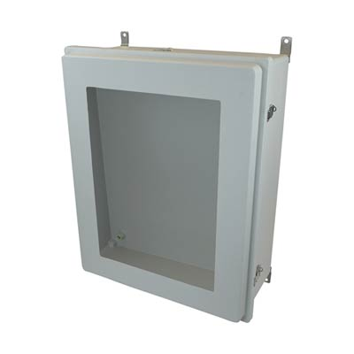 Allied Moulded AM30248RLW NEMA 4X Fiberglass Enclosure