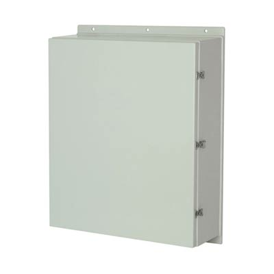 Allied Moulded AM363016L NEMA 4X Fiberglass Enclosure