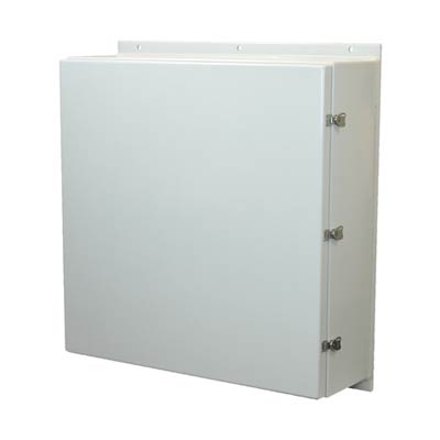 Allied Moulded AM363612L NEMA 4X Fiberglass Enclosure